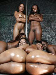 Awesome, tender black babes in hot..