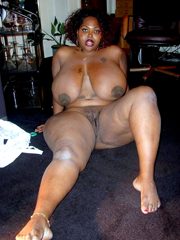 Nude ebony women Thick