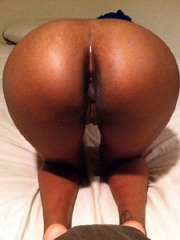 Mature ebony wife is wild cougar when she starved