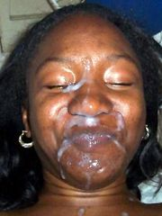 Huge facial cumshot ebony women compilation