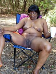 Naked black exhibitionists and swingers at a picnic