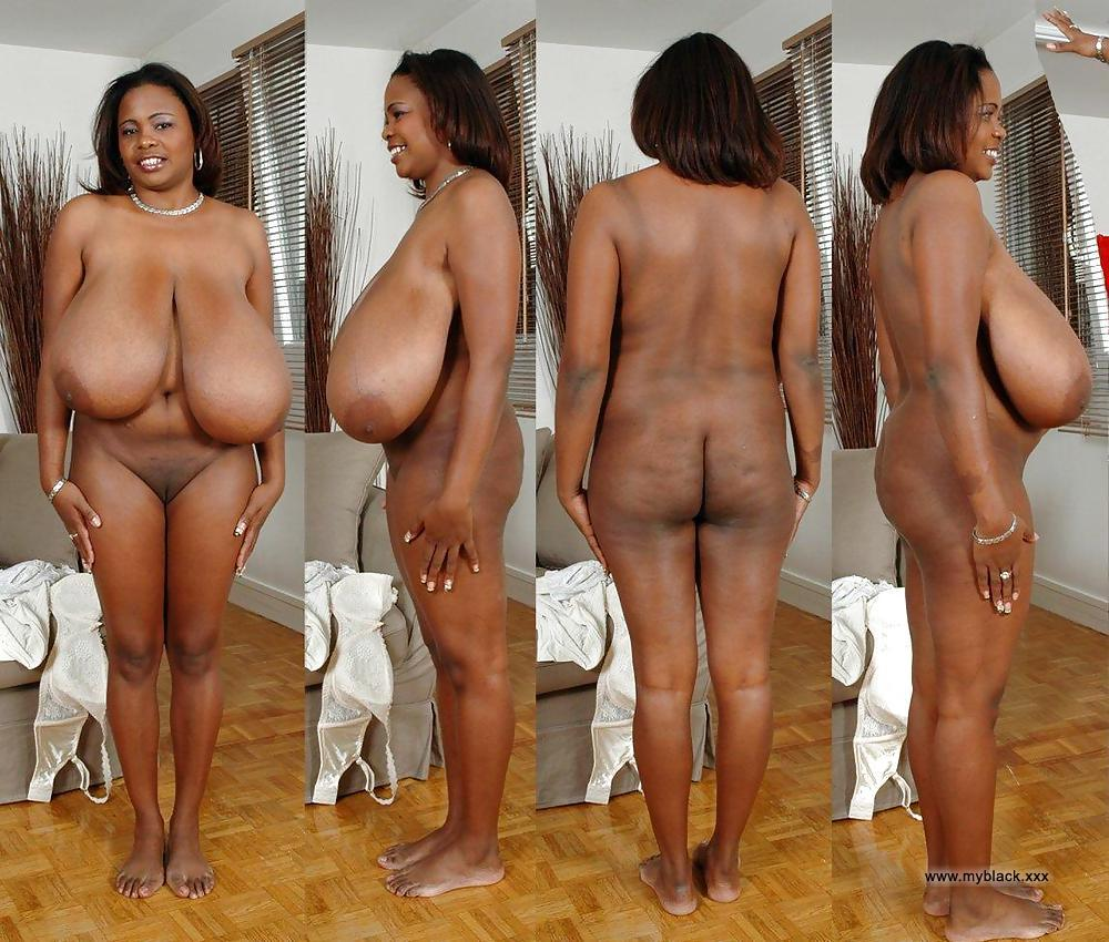Mature granny naked black