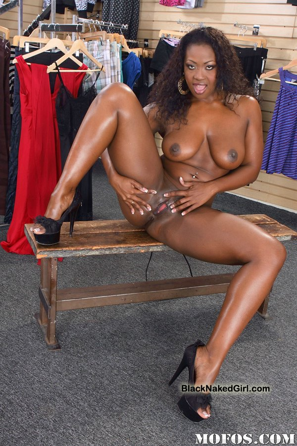 Black girl strip naked