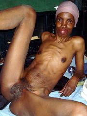naked girl with iguana
