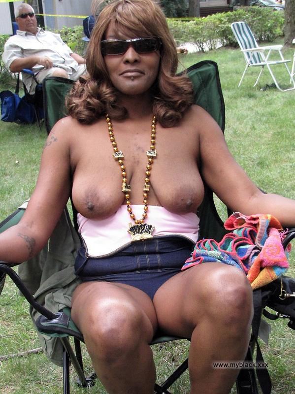 Opinion you Black public nude