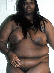 Black woman naked Fat