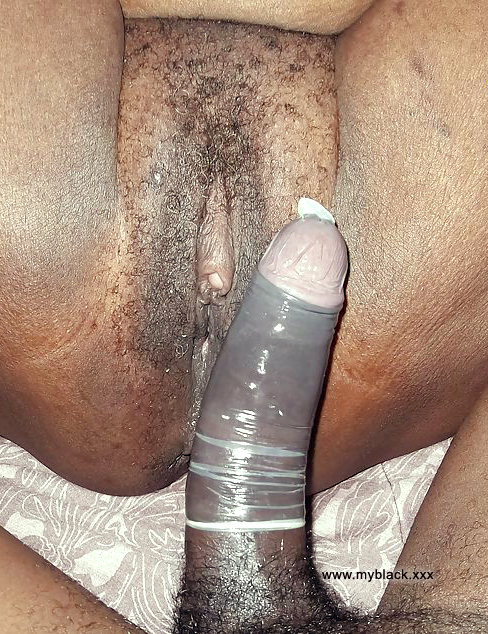 black dicks with condom