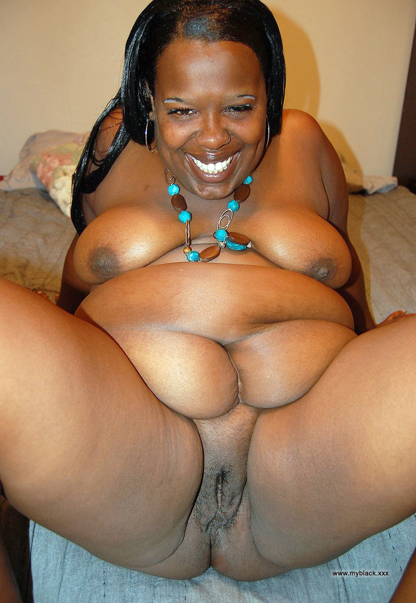 Hot african ebony