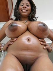 ebony boobs nude Big